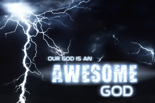 Awesome_God_by_KPMoorse
